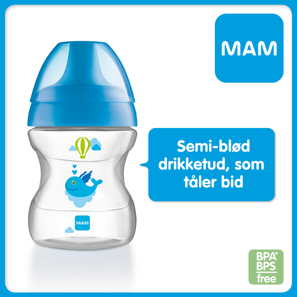 Skal dit barn l re at drikke selv baby talk by mam for Mam limited