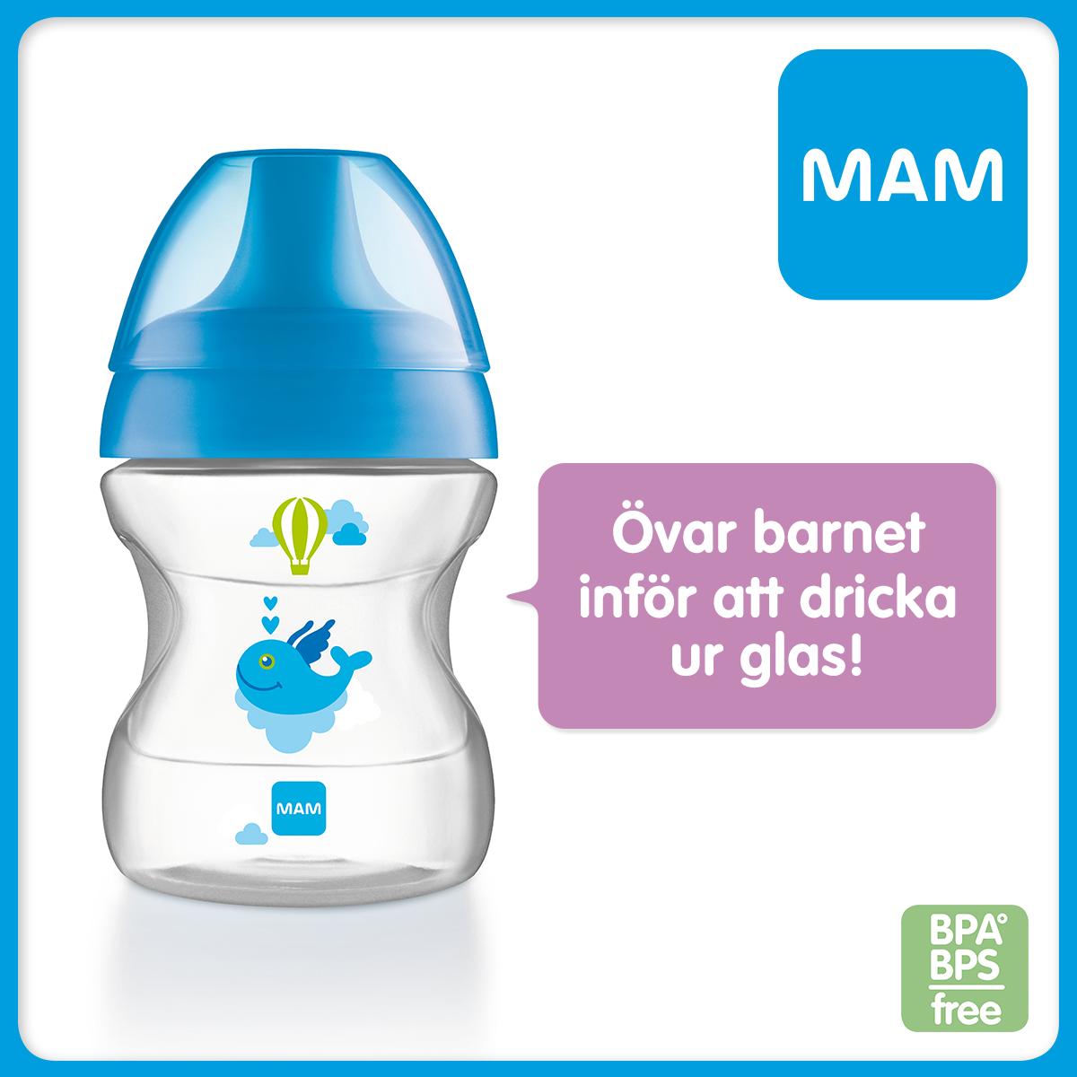 Ska ditt barn l ra sig att dricka baby talk by mam for Mam limited